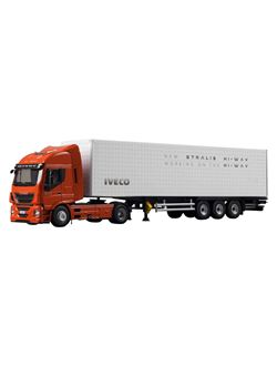 Image of Model Iveco Stralis Hi-Way.  Scale 1/87