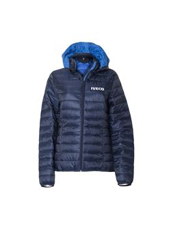 Image of Women's padded jacket with hood