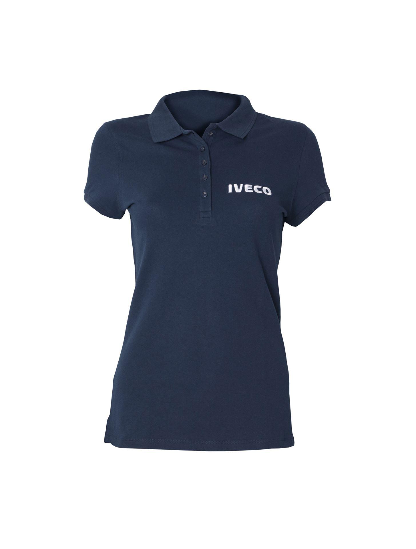 4fc76d930 Iveco Fanshop. Women's polo shirt, blue