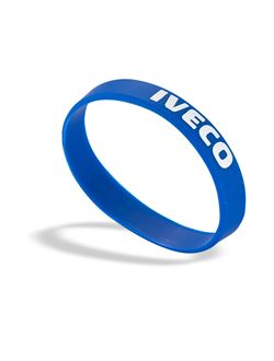 Image of Blue Silicone Wristband