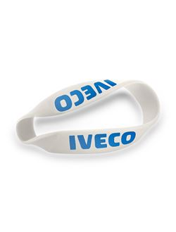 Image of White Silicone Wristbands
