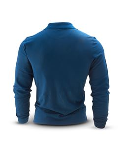 Image of Man's LONG SLEEVE POLO