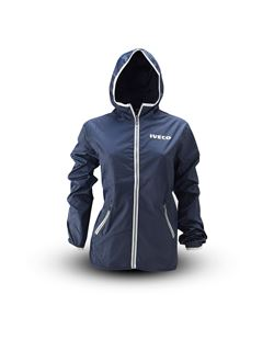 Image de WOMAN'S Blue navy windbreaker