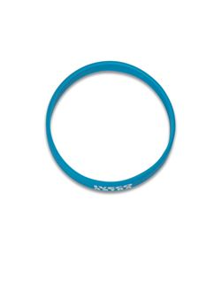 Image of Light blue silicon bracelet