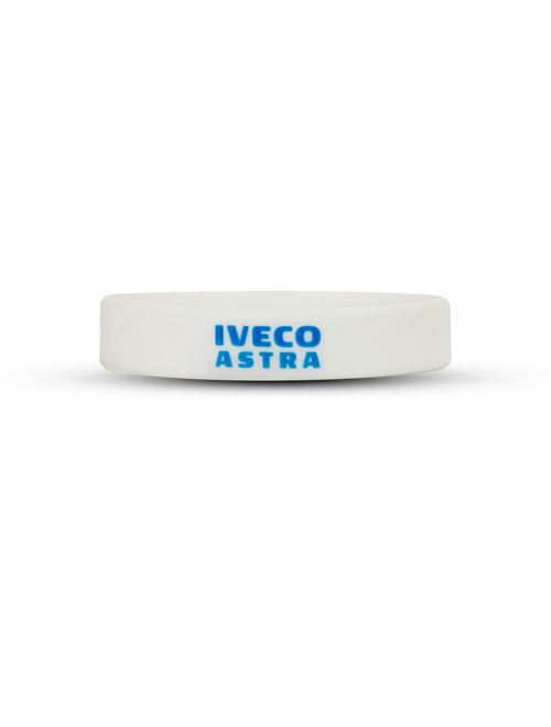 Image of White silicon bracelet