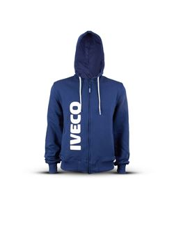 Image of MEN'S BLUE HOODIE