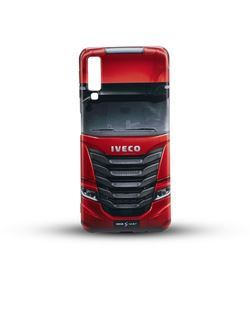 Image of RED IVECO S-WAY smartphone cover